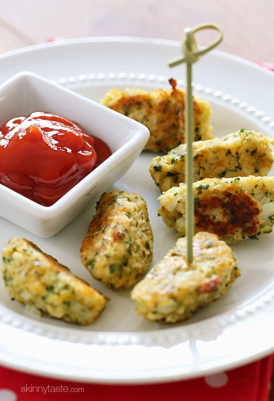 These kid-friendly cauliflower tots are so good, they won't realize they are eating cauliflower.